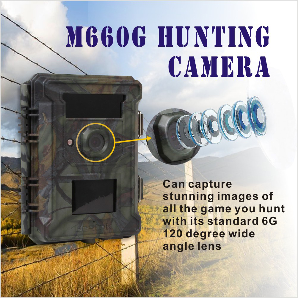 Bestok M660G Security Alibaba Email Address Forest Infrared Thermal Wildlife Camera