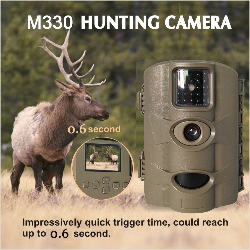 Hunting Night Vision Digital in Bulk Battery Operated Outdoor M330 Mini Video Camera